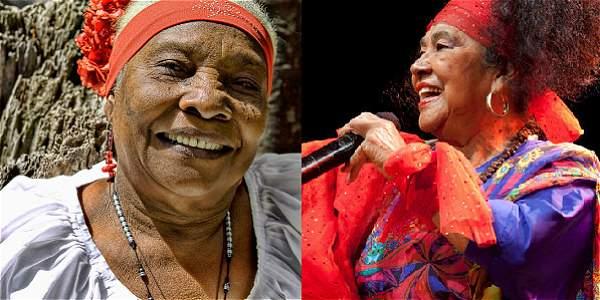 El 'encuentro de tambores' de Totó la Momposina y Petrona Martínez