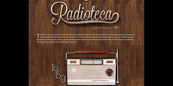 Hoy, la música se toma la Radioteca en la web