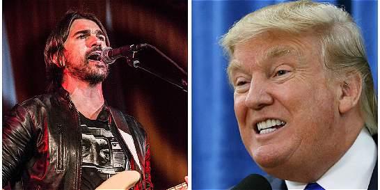 'Donald Trump es como un niño rico maleducado': Juanes