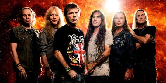 Iron Maiden mantiene su pacto de 40 años con el 'heavy metal'