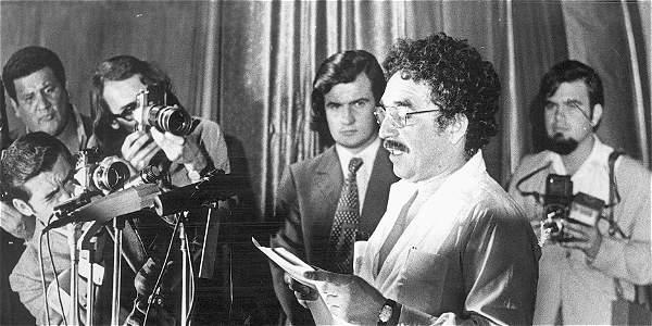 Los usuarios podrán oír una grabación de una lectura de Gabriel García Márquez, Premio Nobel de Literatura en 1982, que data de 1977.