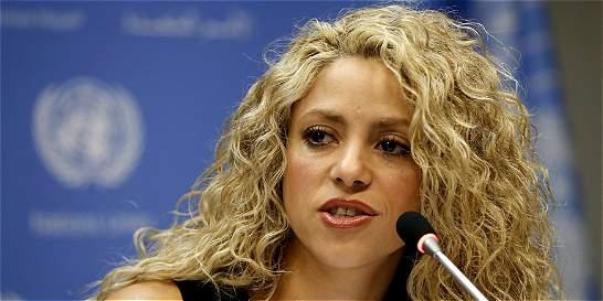 'Educación no es un lujo, es un derecho del ser humano': Shakira