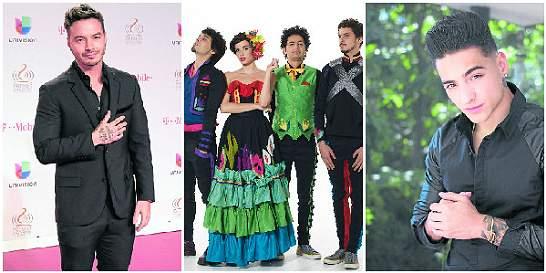 Colombianos nominados a los Premios Grammy Latinos 2015