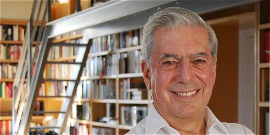'Cinco esquinas' se titula la nueva novela de Mario Vargas Llosa