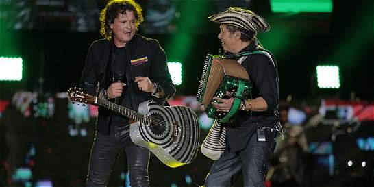 Carlos Vives estará en el tributo a Roberto Carlos, el 18 de noviembre