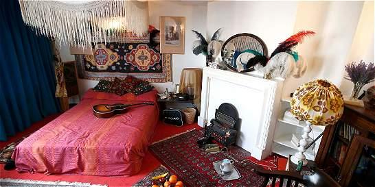 Así es el apartamento en el que vivió Jimi Hendrix, en Londres