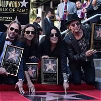 Maná estrenó  estrella en el Paseo de la Fama de Hollywood