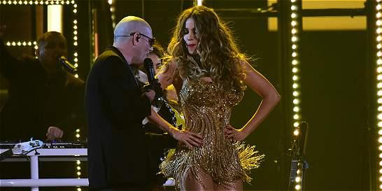 Sofía Vergara marcó un cierre 'de oro' en los Premios Grammy