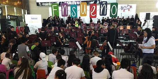 Más de 100 niños disfrutaron del concierto 'Ensueño'