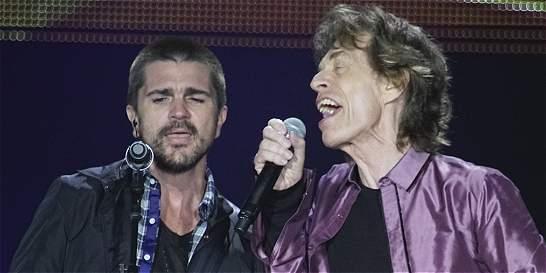 Así llegaron el coro de la Javeriana y Juanes a cantar con los Stones