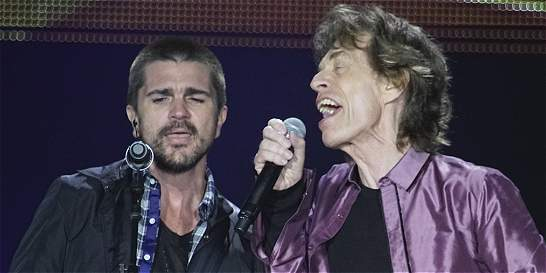 Fue una experiencia memorable: Juanes, sobre concierto con los Stones