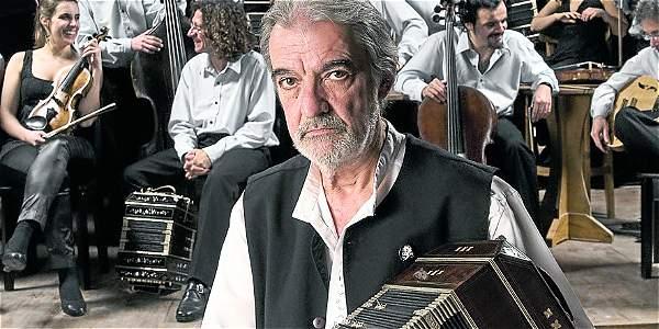 El bandoneonista Rodolfo Mederos es uno de los invitados a la edición 53 del Festival de Música de Popayán.
