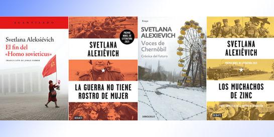 Svetlana Alexiévich, una historiadora del alma