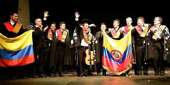 Tuna de Zipaquirá fue premiada en concurso internacional, en España