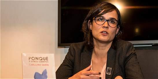 Carolina Sanín presenta su nuevo libro 'Ponqué y otros cuentos'