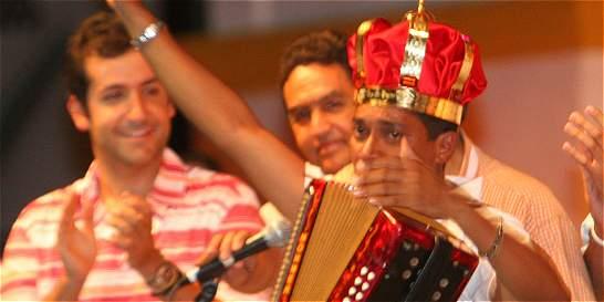 Todos los reyes del Festival Vallenato, juntos