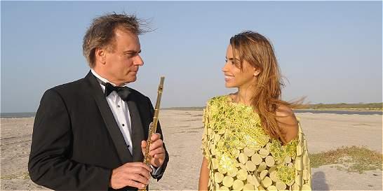 Dueto vallenato entre la flauta clásica y el acordeón