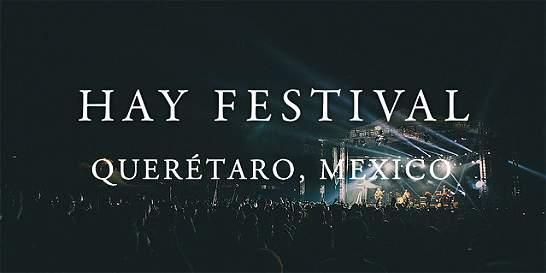 El Hay Festival llegará a México en septiembre