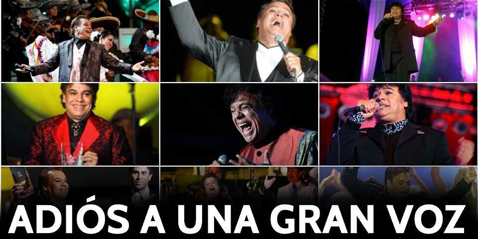 Juan Gabriel: Adiós a una gran voz
