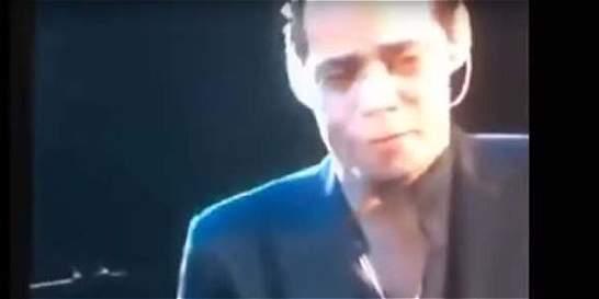 Marc Anthony rompe en llanto en vivo tras la muerte de Juan Gabriel