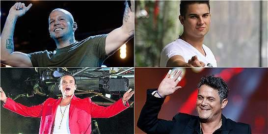 Peleas y escándalos de cantantes en pleno concierto