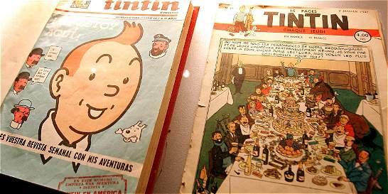 Primer álbum de Tintín, a color casi 90 años después de su publicación