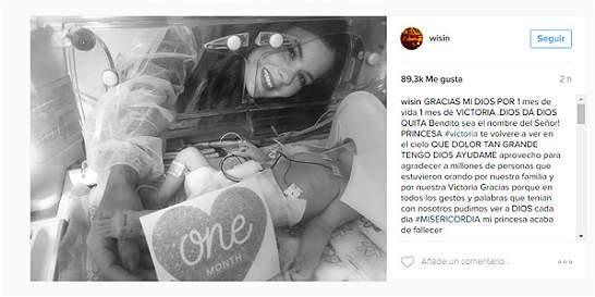 Falleció la hija del reguetonero Wisin
