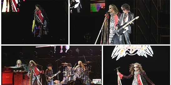 Fotos: momentos emocionantes en el concierto de Aerosmith en Bogotá