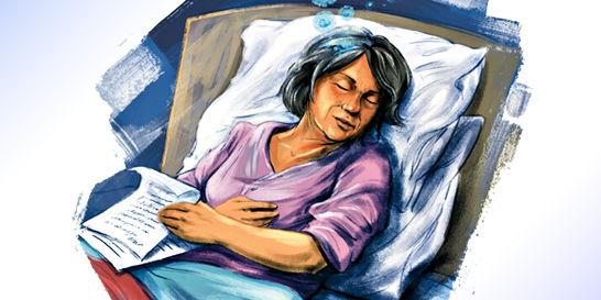 El homenaje de Estefanía Herrera a una bisabuela entrañable