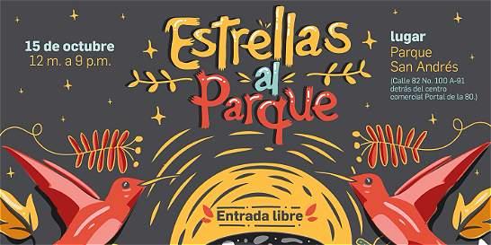 Estrellas al Parque, un festival con música, literatura y astronomía