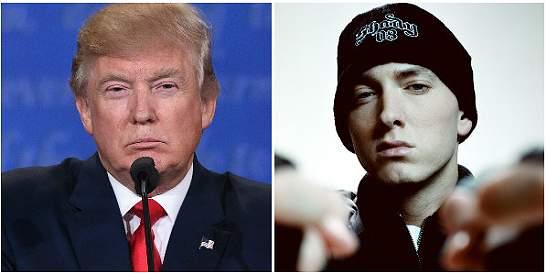 Eminem lanza canción en contra de Donald Trump