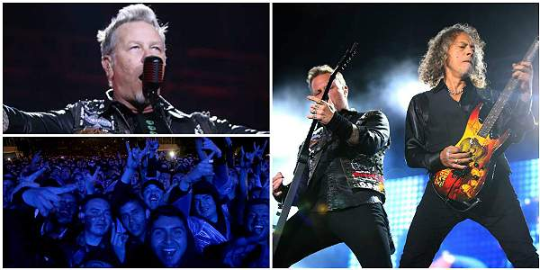 Las emociones del concierto de Metallica en Bogotá