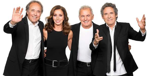 Joan Manuel Serrat, Ana Belén, Víctor Manuel y Miguel Ríos celebran los 20 años de su gira.