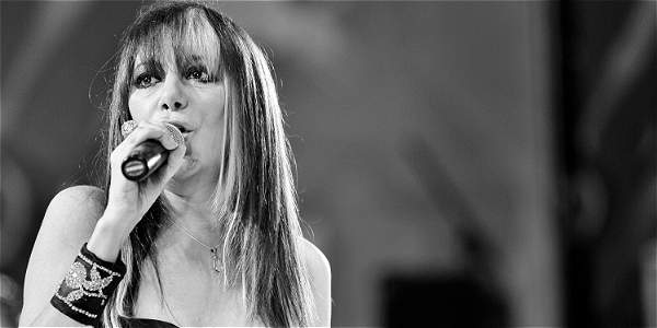 Desde su primer concierto en Bogotá, en febrero del 2005, Adriana Varela ha mantenido una conexión especial con el público colombiano. Fotos: archivo particular