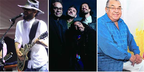 Estos son algunos de los artistas que se estarán presentando durante estos días de descanso.