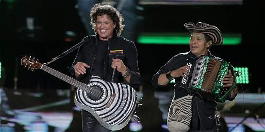 Carlos Vives lanza DVD de su concierto en El Campín