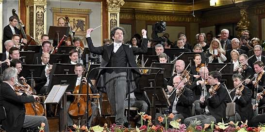 Gran noche para el director Gustavo Dudamel en Concierto de Año Nuevo