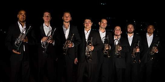 Concierto del Ensamble de Trompetas Simón Bolívar, en Bogotá