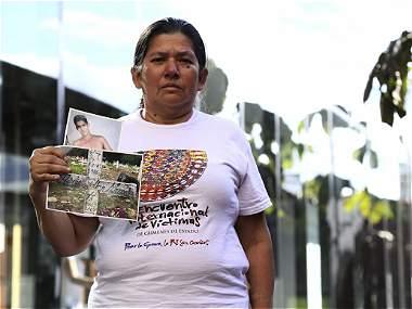 'Mi hijo está muerto y esos militares siguen libres': Gloria Mancera