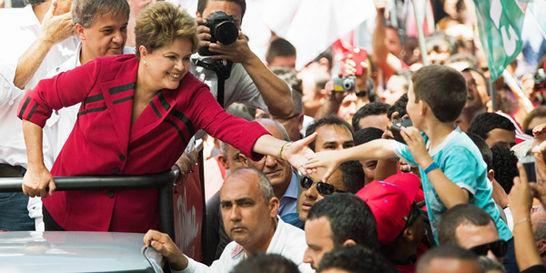Dilma Rousseff, a la espera de un rival para la segunda vuelta