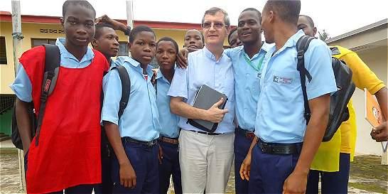 Jorge, el padre de 120 huérfanos del ébola