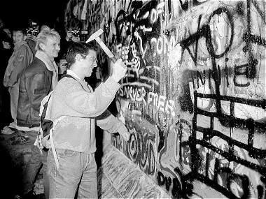 La caída del Muro, un momento clave en la historia