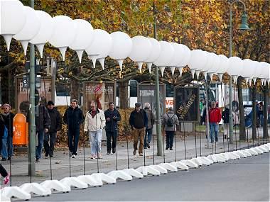 Berlín celebra los 25 años de la caída del Muro por todo lo alto