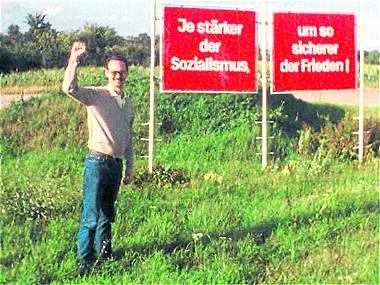 Un colombiano de viaje por la Alemania comunista