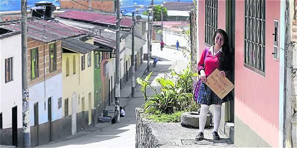 Karen dejará Macanal para estudiar lenguas - ElTiempo.com
