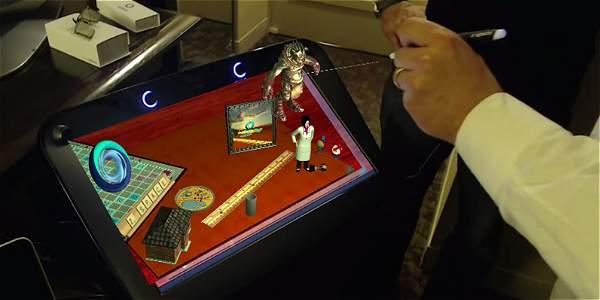Parecidos a una pantalla 3D, estos nuevos monitores fueron denominados 'Zvr'.
