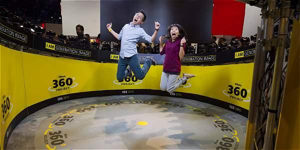 Nikon creó su efecto tipo 'The Matrix': el proyecto 360