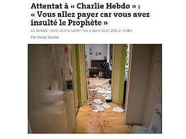 Revelan primera imagen de 'Charlie Hebdo' tras masacre