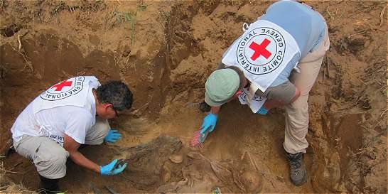 CICR ha recuperado 48 cuerpos en zonas rojas