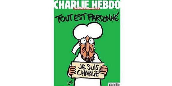 'Charlie Hebdo' explica cómo es el Mahoma de su próxima portada